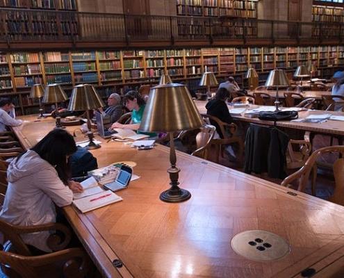 La analogía de la biblioteca